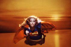 Supergirl flying - 1984