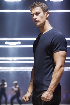 Uh oh... Theo can step into my life at any time now.... May have surpassed my Channing, and that's saying a lot. YUM