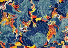 "floserber: ""James Jean, Tiger II """