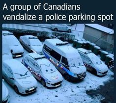 A Group of Canadians Vandalize a Police Parking Spot 20 Best Funny Photos for Wednesday Night 🤨 20 Funny Photos for Your Wednesday The Office Memes Everyone Needs To Laugh Specially Fans 10 Daily Funny Photos for Your Sunday 20 Mega Memes. Stupid Funny Memes, Haha Funny, Funny Posts, Hilarious, Funny Canadian Memes, Funny Stuff, Best Funny Photos, Funny Images, Funny Pictures