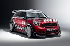 Mini Countryman WRC. I was very happy that mini came back to the wrc, awesome car.