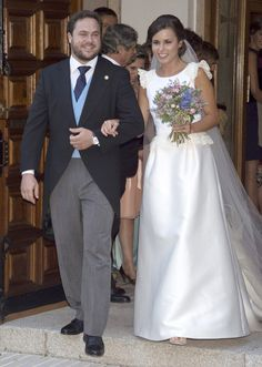 Federico Trillo-Figueroa y Molinuevo dio el 'sí, quiero' a Bárbara García de Quesada y Delgado en la capilla de las Esclavas del Sagrado Corazón de Alcobendas, en Madrid
