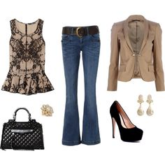 Evening Look, created by jethompson on Polyvore