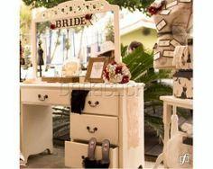 Ambientaciòn Vintage Vanity, Mirror, Vintage, Furniture, Home Decor, Events, Weddings, Dressing Tables, Powder Room