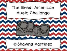 "This unit is designed to be four classes long and covers the songs ""America,"" ""America the Beautiful"", ""The Star-Spangled Banner,"" and ""Yankee Doodle.""  Included in the unit is print environment for the challenge, the whiteboard presentation, a student brochure with all the songs, certificates for students who complete the challenge, sheet music for the final challenge, as well as lesson and assessment suggestions."