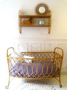 Déco chambre de bébé vintage