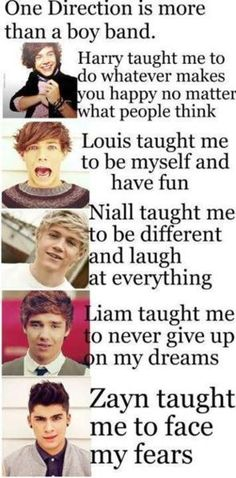 They taught us we're perfect, that we shouldn't change for anyone.