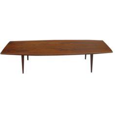 1950s Teak Danish Coffee Table By MM Moreddi | 1stdibs.com