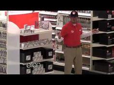 David Beckham Goes Undercover as a Target worker on the Ellen Show.
