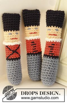 1000+ images about Crochet - Nutcracker And Other Soldiers ...