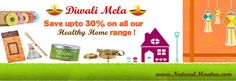 Lots of discounts and a lot more SAVINGS await you in our Diwali Mela!
