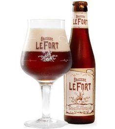 Brasserie LeFort - Bierebel.com, la référence des bières belges More Beer, Wine And Beer, Different Types Of Beer, Beers Of The World, Belgian Beer, Beer Snob, Keep Calm And Drink, Beer Packaging, Beer Brewing