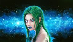 I had fun with drawing the sky:D full res 6580x4000, Psd files on my patreon: www.patreon.com/ainelovia  Tag: #myart #fanart #polaris #marvel #marvelfan #tutorial #patreon #longhair #girl #portrait #woman #greenhair #color #draw #drawing #paint #painting #digitalart #art #artist #illustration #colorful #pretty #beautiful #beauty #prettygirl #makeup #lip #realistic #digitalart #xmen