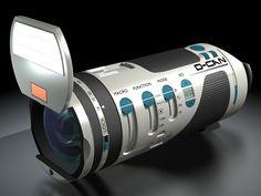 D-Cam concept camera by Jean-michel Bonnemoy