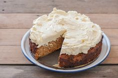 Paleo Carrot Cake w Maple Cream Cheese Frosting-3