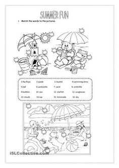Activity with reading,writing,matching colours,numbers, short answers, prepositions of place. - ESL worksheets