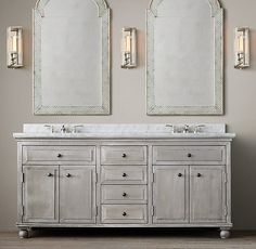 1000 images about bathroom vanities double on pinterest for 6ft bathroom ideas