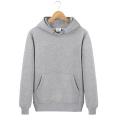 7e1df664f72f Autumn Hooded Sweatshirts Men Solid Color Pullover Hoodie Coat Long Sleeve  O-Neck Pockets Tops Comfortable Men Classic Clothes. Anna Welch