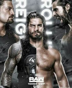 Reigns vs Rollins  Dick27Ambrose