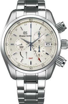 Grand Seiko Watch Spring Drive Chronograph #add-content #basel-17 #bezel-fixed #bracelet-strap-steel #brand-grand-seiko #case-depth-16-1mm #case-material-steel #case-width-43-5mm #chronograph-yes #date-yes #delivery-timescale-call-us #dial-colour-silver #gender-mens #gmt-yes #luxury #movement-spring-drive #new-product-yes #official-stockist-for-grand-seiko-watches #packaging-grand-seiko-watch-packaging #power-reserve-yes #style-dress #subcat-grand-seiko-spring-drive…