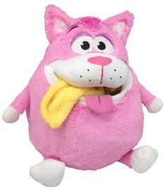 Tummy Stuffers Pink Cat Plush Toy