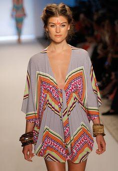mara hoffman poncho dress -- I need to be on an island