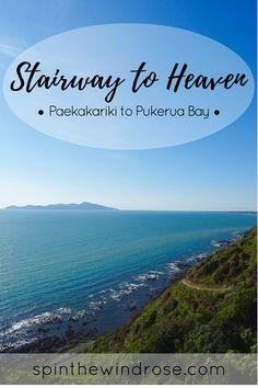 The Stairway to Heaven Hike, Paekakariki to Pukerua Bay - Hiking the Escarpment Track, Wellington, New Zealand || Click through for details || spinthewindrose.com