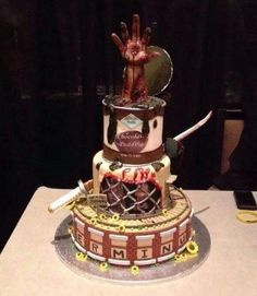 The Walking Dead Cake Roundup - Neatorama
