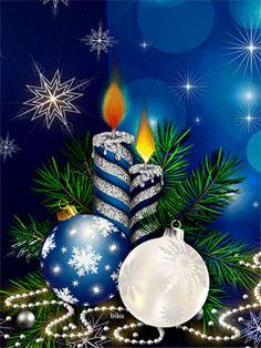 merry christmas # 2020 the meli melos de noel de mamietitine - Page 13 Animated Christmas Tree, Xmas Gif, Merry Christmas Gif, Merry Christmas Pictures, Christmas Scenes, Christmas Candles, Vintage Christmas Cards, Christmas Wishes, Christmas Art