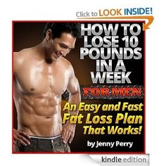 The only way to lose 10 pounds in a week is through surgery.  A 210 lbs runner burns about 3500 calories or one pound of fat in a marathon so a heavy person would have to run 10 marathons in 7 days.  A 150 lb person would need to run 14 marathons in a week.