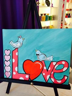 Love!  Can be customized to a different word 7 years and up