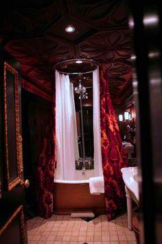 gothic bathroom design reveal your dark side | homey | pinterest