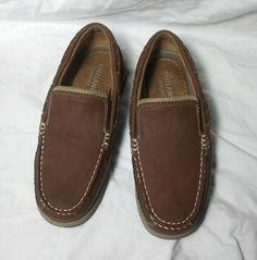 new concept f9a1a 33acc outland boys loafers brown style  atlc 6229-07 new with out box  fashion
