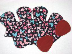 SALE 10 Set of 5 Flannel Cotton Menstrual by JuliansBoutique