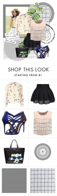 """""""luna Troche"""" by maria-daydreamer ❤ liked on Polyvore featuring Dorothy Perkins, Ted Baker, Alexis, Karl Lagerfeld, TAXI, Designers Guild and Rainforest"""