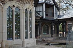 cast stone windows