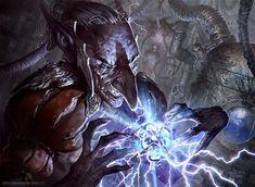 Goblin Electromancer by velinov.deviantart.com on @deviantART