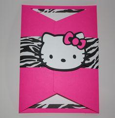 Hello Kitty Invitation - fabulous!!!