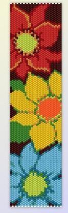 Браслеты, мозаика | biser.info - всё о бисере и бисерном творчестве