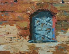 Beside the Tracks SOLD, painting by artist David Boyd, Jr