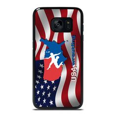 USA WRESTLING Samsung Galaxy S7 Edge Case Cover  Vendor: Favocase Type: Samsung Galaxy S7 Edge case Price: 14.90  This luxury USA WRESTLING Samsung Galaxy S7 Edge Case Cover will generate admirable style to yourSamsung S7 Edge phone. Materials are manufactured from strong hard plastic or silicone rubber cases available in black and white color. Our case makers personalize and design every single case in high resolution printing with good quality sublimation ink that protect the back sides… Samsung Note 8 Phone, Samsung S6 Edge Case, Samsung Galaxy Cases, Black And White Colour, Phone Covers, Silicone Rubber, Galaxy S8, American Flag, Wrestling