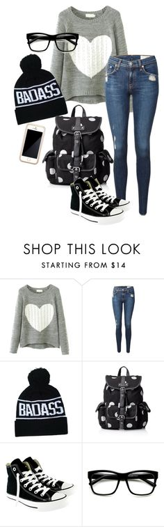"""Happy new years my lovely people of the universe <3"" by angel-is-batman ❤ liked on Polyvore featuring Chicnova Fashion, rag & bone, Wild Pair, Converse, ZeroUV and Squair"