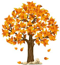 Transparent Fall Orange PNG Clipart Picture