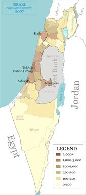 Demographics of Israel - Wikipedia, the free encyclopedia