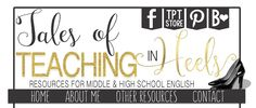 """Cool Secondary Blog--Tales Of Teaching In Heels """"Music in the Classroom? Yes please!"""""""