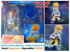 """""""G.E.M. Series - Digimon Adventures: Ishida Yamato & Gabumon"""", figure originale SUBITO DISPONIBILE! Per info e per acquistarla cliccare qui--> https://www.facebook.com/otakingshopitalia/photos/a.646109965519156.1073741834.643117879151698/759352700861548/?type=3&theater Consegna gratuita a mano su ROMA o spedizione tracciata con arrivo in 2-3 giorni!"""
