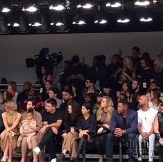 Kylie Jenner Walks The Runway Again For Kanye West's NYFW Show With The Whole Fam In The Front Row!!