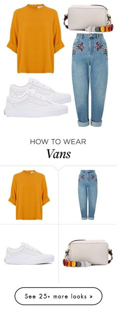 """""""Untitled #4121"""" by evalentina92 on Polyvore featuring Miss Selfridge, Vans and Anya Hindmarch"""