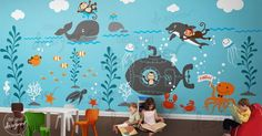 Great Ideas for Kids Nature Room Wall Murals Painting | Paint A ...
