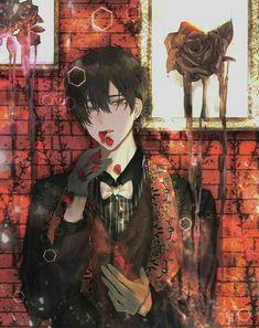 Manga Anime, Anime Oc, Anime Chibi, Manga Art, Dark Anime Guys, Hot Anime Boy, Handsome Anime Guys, Animes Wallpapers, Guy Drawing